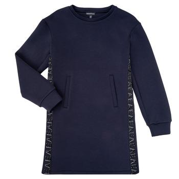 Textiel Meisjes Korte jurken Emporio Armani 6H3A07-1JDSZ-0920 Marine