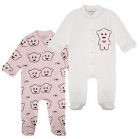 Textiel Meisjes Pyjama's / nachthemden Emporio Armani 6HHV06-4J3IZ-F308 Roze