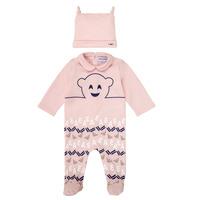 Textiel Meisjes Pyjama's / nachthemden Emporio Armani 6HHV08-4J3IZ-0355 Roze