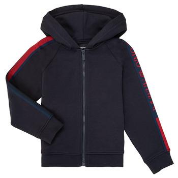 Textiel Jongens Sweaters / Sweatshirts Emporio Armani 6H4ME2-4J3BZ-0922 Marine