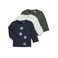 Textiel Jongens T-shirts met lange mouwen Emporio Armani 6HHD21-4J09Z-0564 Multicolour