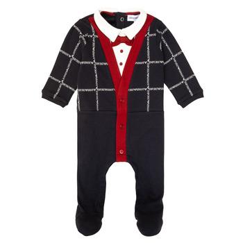 Textiel Jongens Pyjama's / nachthemden Emporio Armani 6HHD12-4J3WZ-F912 Marine