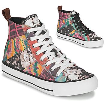 Schoenen Dames Hoge sneakers Desigual BETA_HERITAGE Multikleuren
