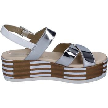 Schoenen Dames Sandalen / Open schoenen Tredy's sandali pelle sintetica Argento