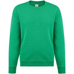 Textiel Kinderen Sweaters / Sweatshirts Fruit Of The Loom 62041 Heather Groen