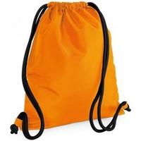 Tassen Kinderen Sporttas Bagbase BG110 Oranje/zwart