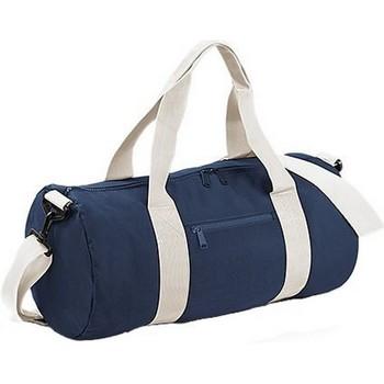Tassen Soepele Koffers Bagbase BG140 Franse marine/buitenwit
