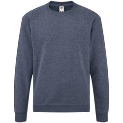 Textiel Kinderen Sweaters / Sweatshirts Fruit Of The Loom Raglan Heather Marine