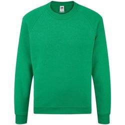 Textiel Kinderen Sweaters / Sweatshirts Fruit Of The Loom Raglan Heather Groen