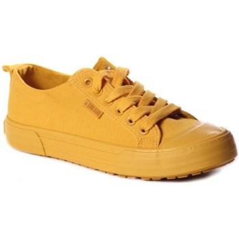 Schoenen Dames Lage sneakers Big Star FF274A086 Jaune