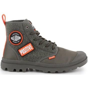 Schoenen Heren Hoge sneakers Palladium Manufacture Pampa HI Change U Olive
