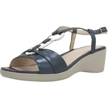 Schoenen Dames Sandalen / Open schoenen Stonefly VANITY III 15 GOAT L Blauw