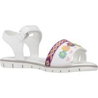 Schoenen Meisjes Sandalen / Open schoenen Chicco 1063626 Wit