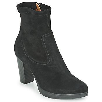Schoenen Dames Enkellaarzen Karston VABONO Zwart