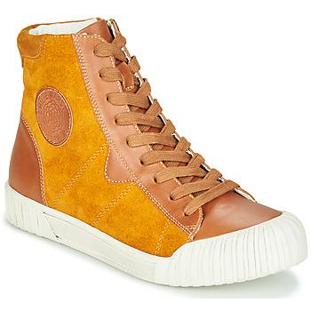 Schoenen Dames Hoge sneakers Karston OMSTAR Ocre