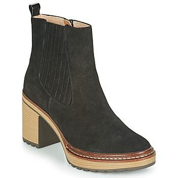 Schoenen Dames Enkellaarzen Karston GRANI Zwart