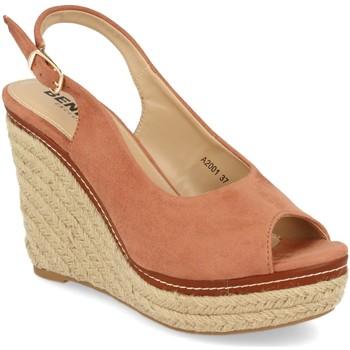 Schoenen Dames Espadrilles Benini A2001 Rosa