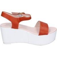Schoenen Dames Sandalen / Open schoenen Solo Soprani Sandales BN770 Orange
