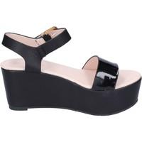 Schoenen Dames Sandalen / Open schoenen Solo Soprani Sandales BN772 Noir