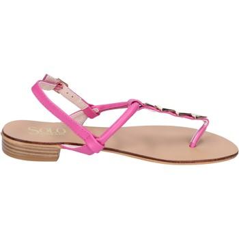 Schoenen Dames Sandalen / Open schoenen Solo Soprani BN775 Rose
