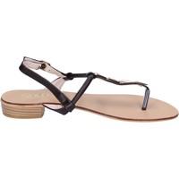 Schoenen Dames Sandalen / Open schoenen Solo Soprani Sandales BN776 Marron