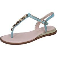 Schoenen Dames Sandalen / Open schoenen Solo Soprani Sandales BN780 Turquoise