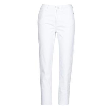 Textiel Dames 5 zakken broeken Only ONLEMILY Wit