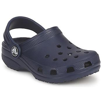 Schoenen Kinderen Leren slippers Crocs CLASSIC KIDS Marine