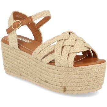 Schoenen Dames Sandalen / Open schoenen Buonarotti 1FF-0026 Beige