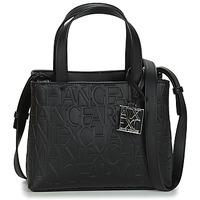 Tassen Dames Handtassen kort hengsel Armani Exchange  Zwart