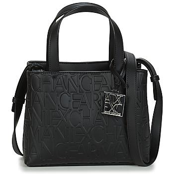 Tassen Dames Handtassen kort hengsel Armani Exchange 942647-CC793-00020 Zwart