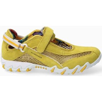 Schoenen Dames Lage sneakers Mephisto NIRO Geel