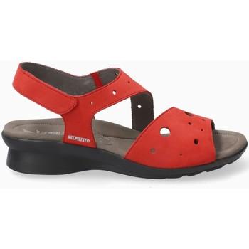 Schoenen Dames Sandalen / Open schoenen Mephisto PHIBYPERF Rood