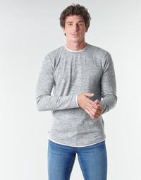 Textiel Heren T-shirts met lange mouwen Deeluxe MOHANSON Grijs