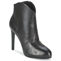 Schoenen Dames Low boots Ash BLOG Zwart