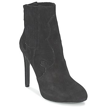 Schoenen Dames Enkellaarzen Ash BOO Zwart