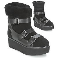 Schoenen Dames Laarzen Ash ZAZIE Zwart