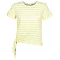 Textiel Dames T-shirts korte mouwen Only ONLBRAVE Geel