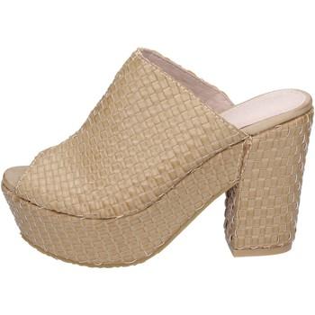 Schoenen Dames Sandalen / Open schoenen Sara Lopez sandali pelle sintetica Beige
