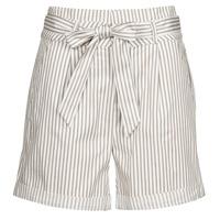 Textiel Dames Korte broeken / Bermuda's Vero Moda VMEVA Wit / Blauw