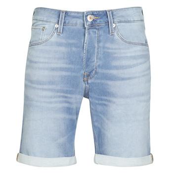 Textiel Heren Korte broeken / Bermuda's Jack & Jones JJIRICK Blauw / Medium
