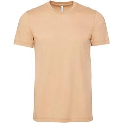 Textiel Heren T-shirts korte mouwen Bella + Canvas Jersey Sand Dune