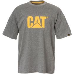 Textiel Heren T-shirts korte mouwen Caterpillar  Donkere Heide Grijs