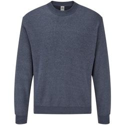 Textiel Heren Sweaters / Sweatshirts Fruit Of The Loom 62202 Heather Marine