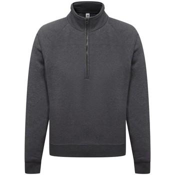 Textiel Heren Sweaters / Sweatshirts Fruit Of The Loom 62032 Donker Heather
