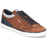 Schoenen Heren Lage sneakers Pepe jeans KENTON SPORT Brown