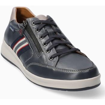 Schoenen Heren Lage sneakers Mephisto LISANDRO Blauw