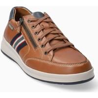 Schoenen Heren Lage sneakers Mephisto LISANDRO Brown