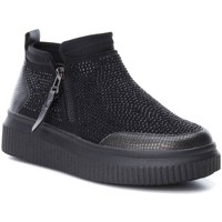 Schoenen Dames Enkellaarzen Xti 47456 NEGRO Negro