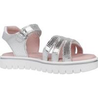 Schoenen Meisjes Sandalen / Open schoenen Garvalin 202652 Zilver